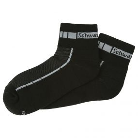 SCHWARZWOLF BIKE socks black